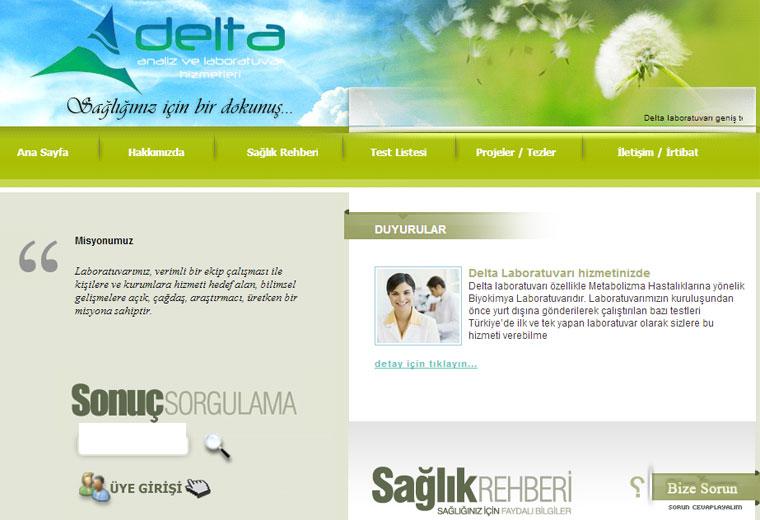 Delta Analiz Laboratuvar Hizmetleri